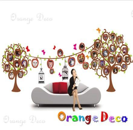 壁貼【橘果設計】相片樹 DIY組合壁貼 牆貼 壁紙 壁貼 室內設計 裝潢 壁貼