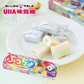 日本 UHA 味覺糖 噗啾綜合水果條糖 50g 普超軟糖 水果軟糖 軟糖 噗啾糖 糖果 噗啾條糖 日本軟糖