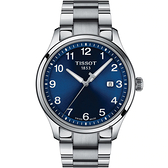 TISSOT 天梭 紳士XL經典石英手錶-41mm T1164101104700