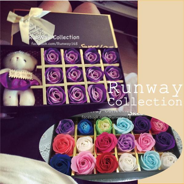 【24H】可愛 花束 小熊公仔 玩偶 禮盒 香皂 玫瑰 送女友閨蜜 生日 畢業 聖誕禮物 母親節 禮物 送禮