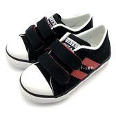 《7+1童鞋》普萊米 PRIVATE 二等兵 輕量 基本百搭款 休閒帆布鞋 F220 黑色
