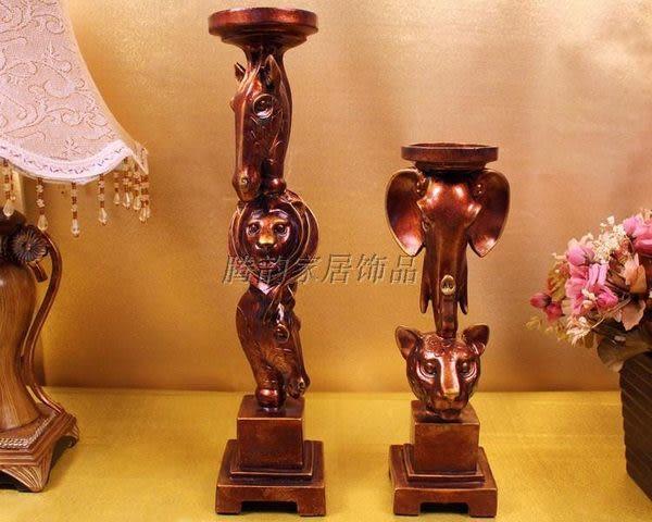 複古歐式蠟燭台D50