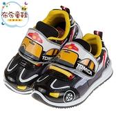 《布布童鞋》TOMICA多美小汽車黑色警車兒童運動鞋(15~20公分) [ A9J904D ]