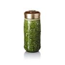 【收藏天地】乾唐軒活瓷系列*麒麟隨身杯 綠釉款∕按摩 舒緩 碧璽 電氣石 養生 健康 負離子