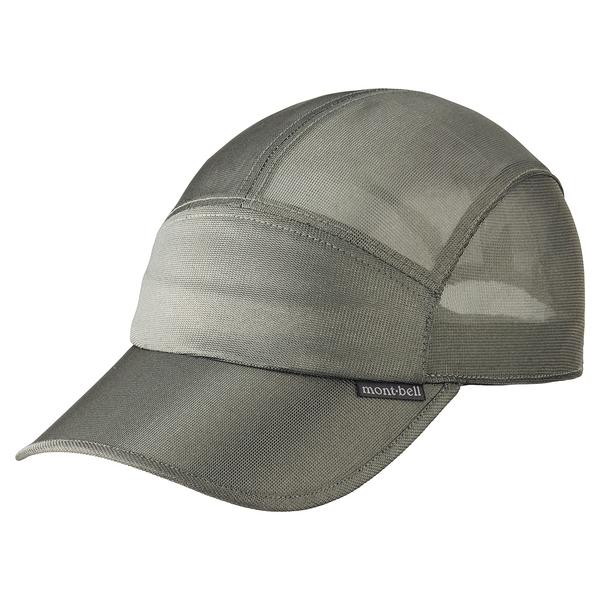 [好也戶外]mont-bell STAINLESS MEST銀纖棒球帽 NO.1118655NI