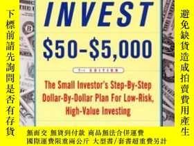 二手書博民逛書店How罕見To Invest $50-$5,000 (7th Edition)Y364682 Dunnan,