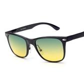 太陽眼鏡-偏光日夜視鏡司機駕駛防眩光兩用男-墨鏡-2色73nm38【巴黎精品】