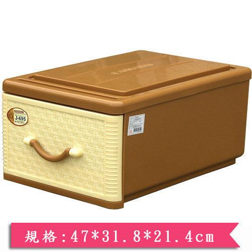 ★2件超值組★KEYWAY 抽屜收納箱J-695【愛買】