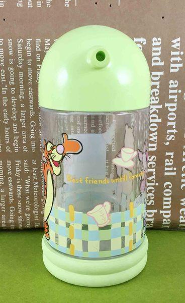 【震撼精品百貨】Winnie the Pooh 小熊維尼~調味罐L-綠