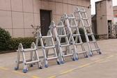 伸縮梯 加厚多功能折疊梯工程梯人字梯家用梯子伸縮梯小巨人梯升降 DF