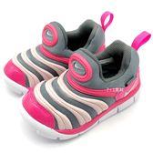 《7+1童鞋》小童 NIKE DYNAMO FREE Y2K(TD) 輕量毛毛蟲 運動鞋 學步鞋 F852 粉色