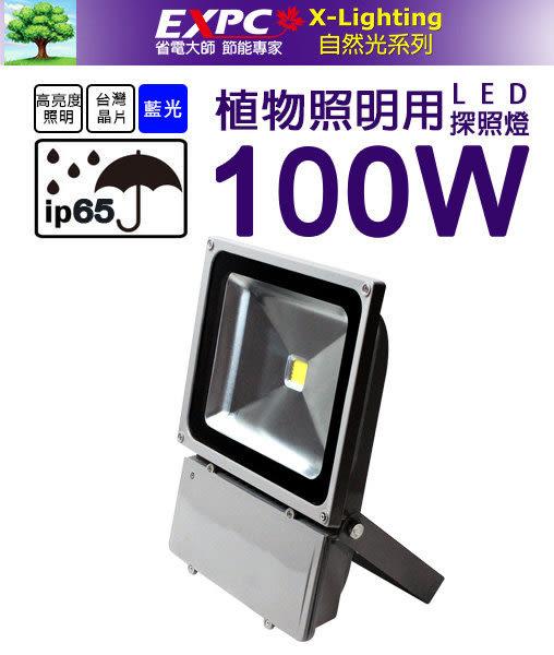 LED 100W 植物 探照燈 投光燈 生長燈 植物補光燈 全電壓 投光燈 舞台燈 X-LIGHTING