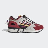 Adidas Zx 10000 [G55726] 男鞋 運動休閒 復古 愛迪達 民俗風 異材質拼接 灰 紅