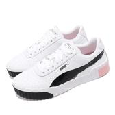 Puma 休閒鞋 Cali x Maybelline 白 粉紅 女鞋 運動鞋 厚底鞋 聯名 【PUMP306】 37251801