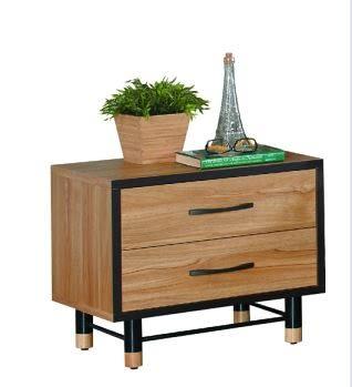 【南洋風休閒傢俱】床頭櫃系列-洛特床頭櫃 收納櫃 二抽櫃 JX15-3