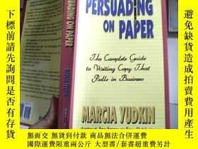 二手書博民逛書店PERSUADING罕見ON PAPERY4246 出版2001