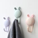 創意卡通塑料粘鉤無痕強力粘膠掛鉤浴室免打孔可愛衛生間墻壁掛鉤寶貝計畫 上新