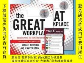 二手書博民逛書店The罕見Great Workplace: Participant SetY410016 Michael Bu