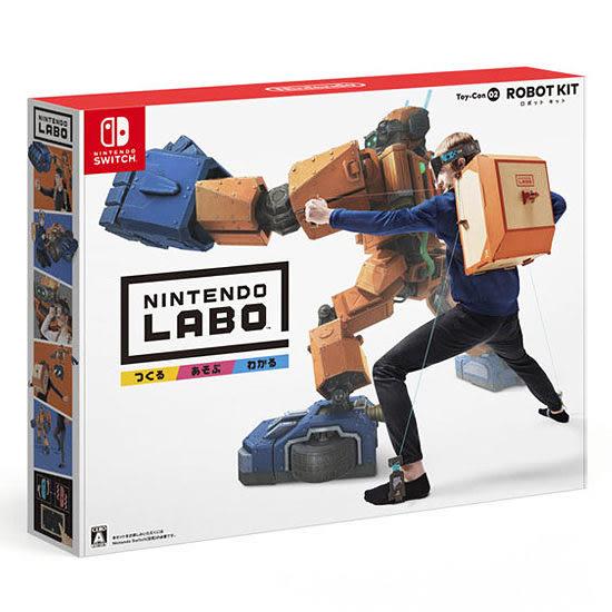 [哈GAME族]免運費 可刷卡●創意套件組●Nintendo Switch主機 + Labo Toy-Con02 ROBOT KIT 機器人套件組
