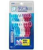 日本 獅王 Lion Y型牙線棒18入 深層清潔牙縫 可重複使用
