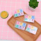 【BlueCat】字母A~F盒裝橡皮擦 (6入裝)
