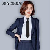 男女領帶職業裝飾jk懶人拉鏈小領帶