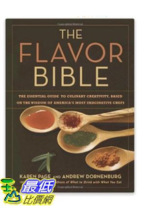 [美國直購] The Flavor Bible 美國暢銷書 The Essential Guide to Culinary Creativity