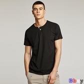 【貝貝】男短袖T恤(4色)男純色V領修身體恤SX1004