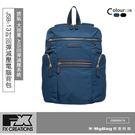 FX CREATIONS  後背包 JSB系列 13吋回彈減壓電腦背包 深藍色 JSB69847A-98 得意時袋