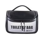 洗漱包 韓版新款防水PU洗漱包 戶外旅行化妝用品收納包 男女士手提洗漱袋
