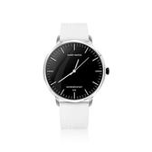 JSmax SW-HD1石英數位混合型智慧健康手錶銀白色