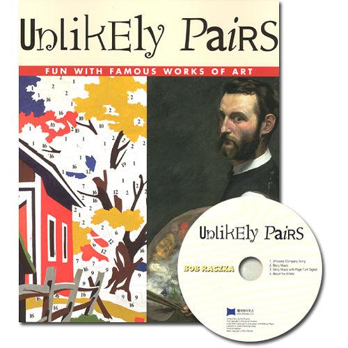 【麥克書店】UNLIKELY PAIRS /英文繪本+CD 《主題:藝術欣賞》