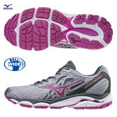 美津濃 MIZUNO 女慢跑鞋 INSPIRE 14(灰紫)支撐型 J1GD184667【 胖媛的店 】