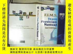 二手書博民逛書店F.I.M.S.TEAM罕見PHYSICIAN MANUAL 2ND EDITION F、 I.M.S.團隊醫生手