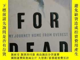 二手書博民逛書店Left罕見for Dead: My Journey Home