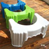 馬桶墊腳凳加厚馬桶凳蹲便凳坐便凳蹲坑蹲便凳便秘增高兒童如廁XW 萊爾富免運