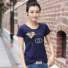 *ORead*圓領蕾絲袖T恤(3色S~4XL)