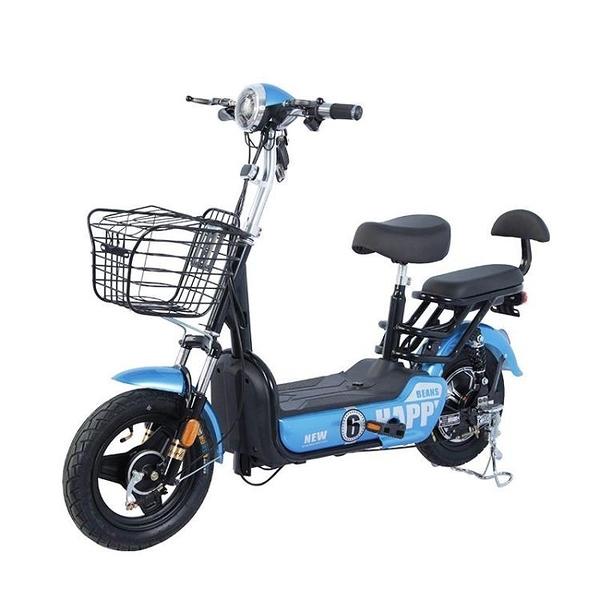 電動車成人兩輪可鋰電池電瓶車電動自行車48v雙人 【快速出貨】