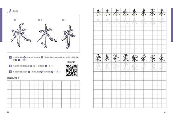 樊氏硬筆瘦金體1000字帖+巴川紙練字本