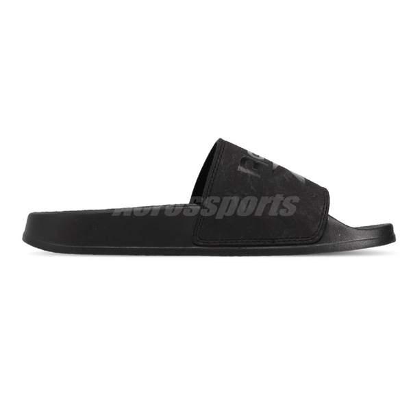 Reebok 拖鞋 Filgere Slide 白 灰 女鞋 基本款 復古 大LOGO 舒適好穿 涼拖鞋【ACS】 CN6466