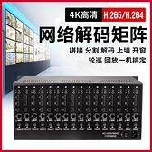 H265網絡監控視頻解碼器兼容4K數字高清混合HDMI矩陣切換