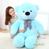 毛絨玩具抱抱熊公仔大熊抱枕熊貓布娃娃大號抱抱熊玩偶生日禮物女MBS「時尚彩虹屋」