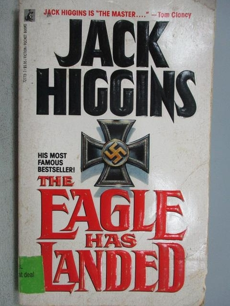 【書寶二手書T9/原文小說_MMY】The Eagle has Landed_Jack Higgins
