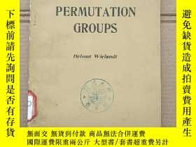 二手書博民逛書店finite罕見permutation groups(P1405)Y173412
