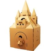 兒童帳篷紙箱紙板紙城堡玩具屋瓦楞紙diy紙房子兒童手工紙殼遊戲屋城市