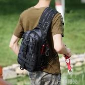 新款路亞斜背包/側背包單雙肩多功能腰包戶外包旅行運動大容量胸包男竿包 一米陽光
