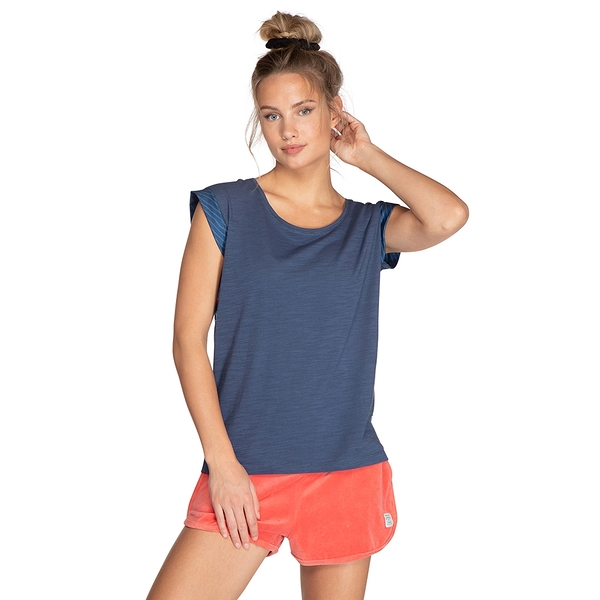 PROTEST 女 短袖T恤 (深藍色) RADICAL T-SHIRT