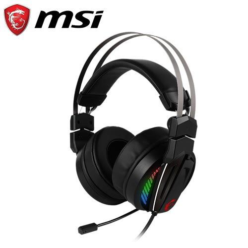 MSI 微星 GH70 電競耳機麥克風【加碼送電競撲克牌】