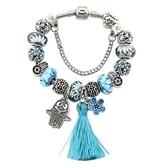 串珠手環-精美琉璃飾品歐美時尚熱銷女配件73kc140【時尚巴黎】