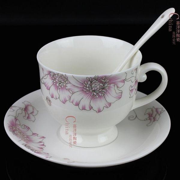 咖啡杯套裝中式  陶瓷 2個/組